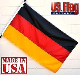 US Flag Factory 3x5 Germany German Flag (Sewn Stripes, Header &