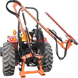 Farmer Helper Hydraulic Boom with 6′ Sickle Brush Mower, 3 point FH-BRM180 Requires a tractor. Not a standalone unit.