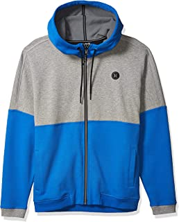 Hurley M Therma Protect Blocked FZ Pullover Sweater Uomo