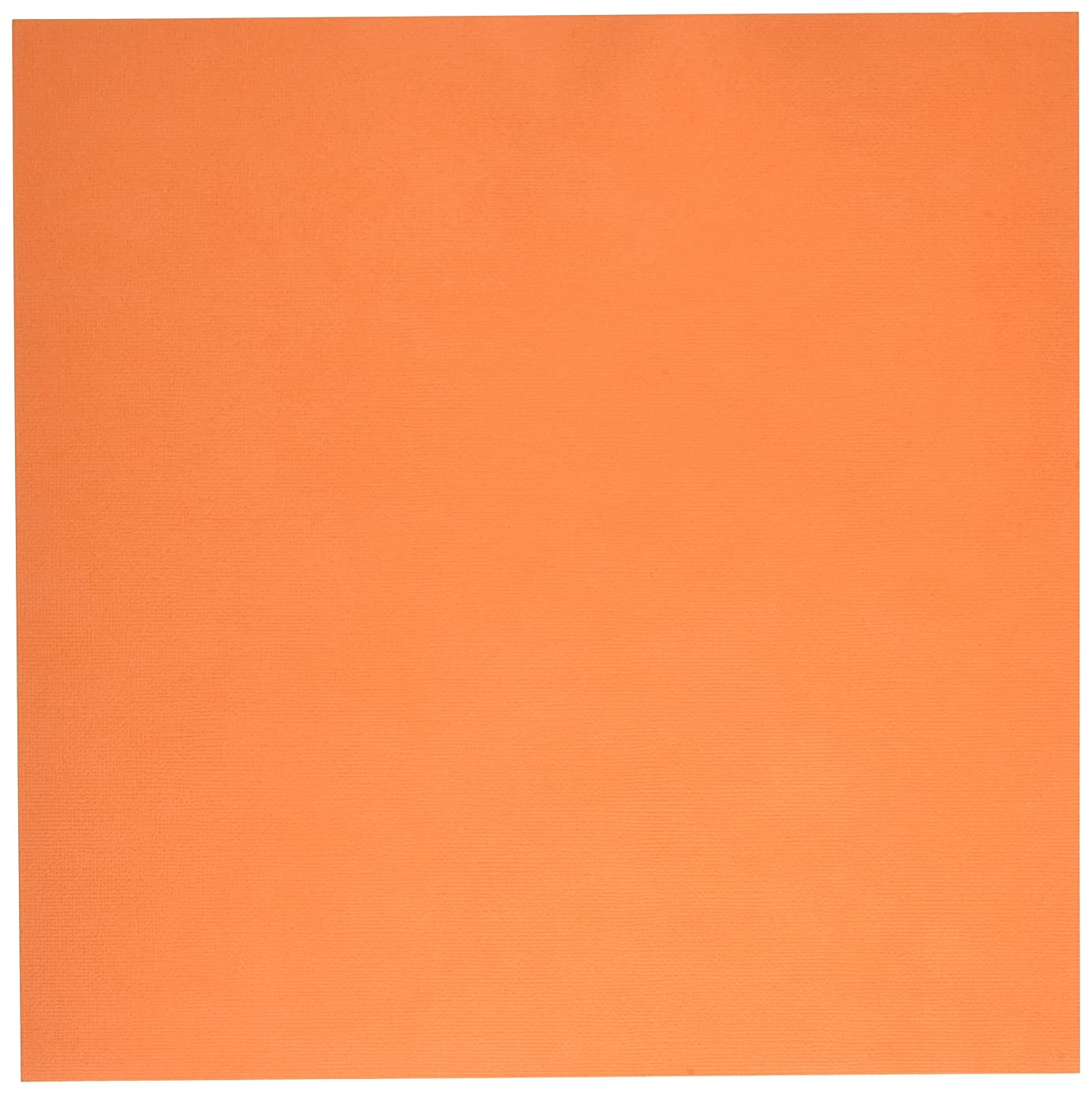 American Crafts 12x12 Cardstock, Carrot