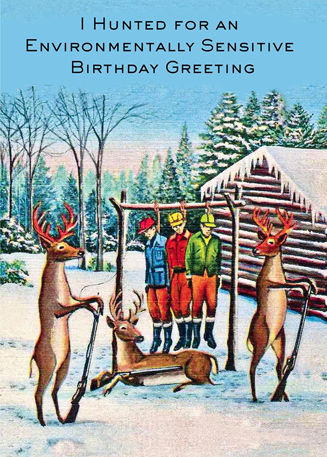 Amazon Com 6 Pack Deer Hunting The Hunters Xxth Century Birthday Card 20205 Birthday Greeting Cards Office Products