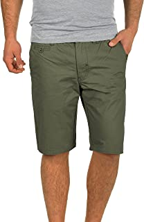 Blend Sasuke Chino Shorts Bermuda Kurze Hose Aus 100% Baumwolle Regular Fit, Größe:M, Farbe:Dusty Green (70595)
