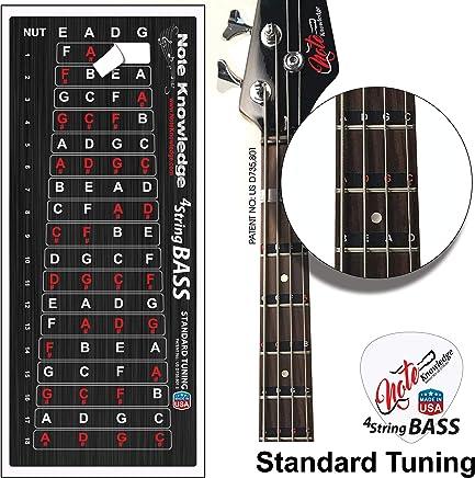 Objective Fingerboard Fret Decals For 6 String Guitar Fretboard Notes Map Labels Sticker Musical Instruments