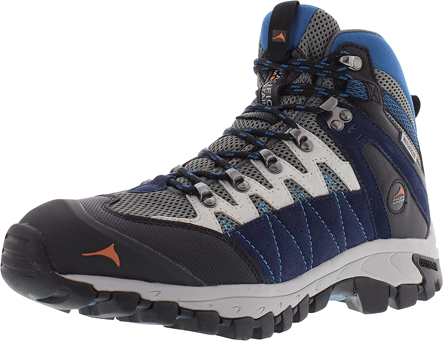 99e1b44ea86 Pacific Mountain Descend Men's Waterproof Hiking Backpacking Mid ...