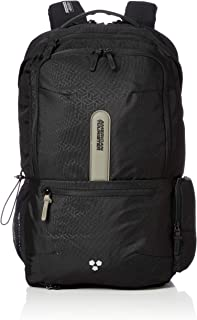 American Tourister Work:Out Laptop Backpack, 48 Centimeter, Black