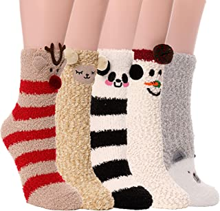 Best girls fluffy socks Reviews