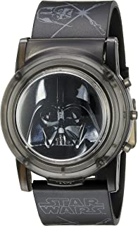 Star Wars Star Wars Kids' DAR6000SR Digital Display Analog Quartz Black Watch