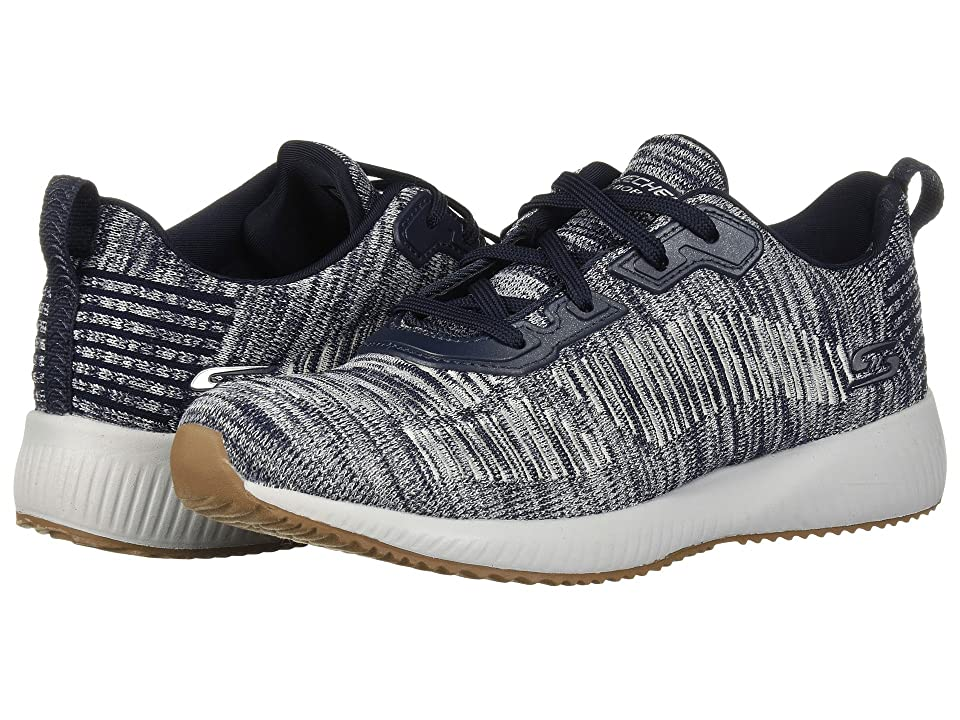 BOBS from SKECHERS Bobs Squad Total H (Navy White) Women