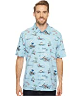 Quiksilver Waterman - Christmas In Makano Short Sleeve Woven Shirt