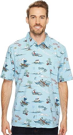 Quiksilver Waterman - Christmas In Makano Short Sleeve Woven Shirt