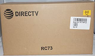 DIRECTV 40 RC73 IR/RF Remote Control for Genie HR44 & Client C41 W/Batteries New