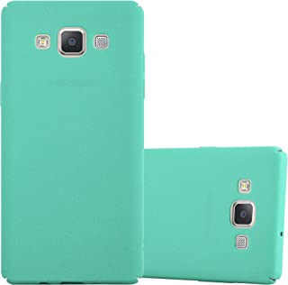 Cadorabo Case Works with Samsung Galaxy A5 2015 in Frosty Green – Shockproof and Scratch Resistent Plastic Hard Cover – Ultra Slim Protective Shell Bumper Back Skin