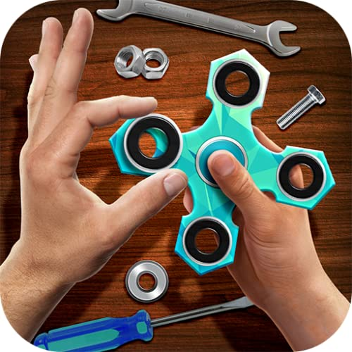 Craft Your Own Fidget Spinner: Workshop | Mechanical Gadget Swiping Relaxation