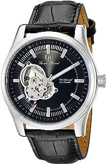 Lucien Piccard Men's LP-40006M-01 Morgana Analog Display Mechanical Hand Wind Black Watch