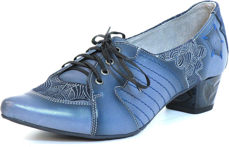 Maciejka Women Pumps bluee, (blue-Kombi) 03200-17 00-5
