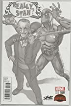 DEADPOOL'S SECRET SECRET WARS #1 Sketch variant cover