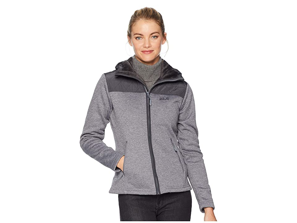Jack Wolfskin Pacific Sky Jacket (Pebble Grey) Women