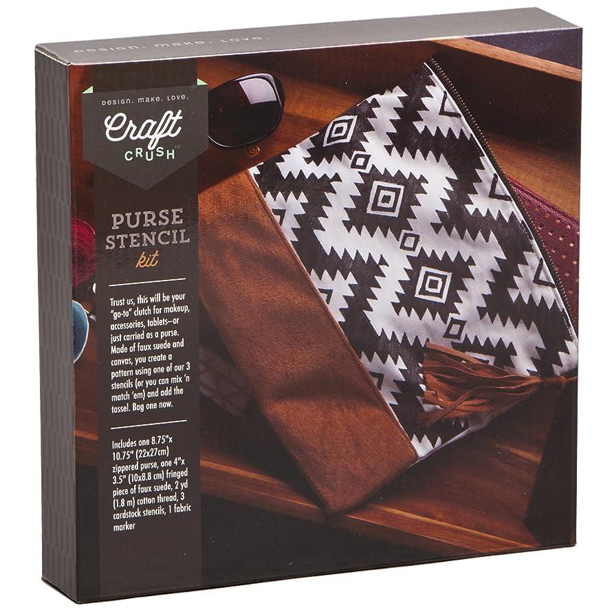 Craft Crush Stencil Purse Kit