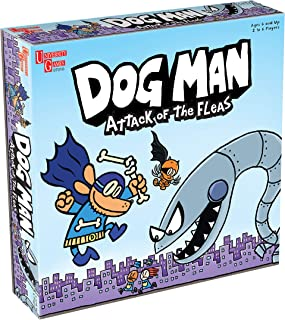Dog Man Attack of The Fleas (Fuzzy Little Evil Animal Squad) Game Based on The Popular Dog Man Book Series by Dav Pilkey