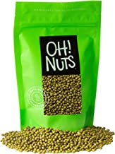 Oh! Nuts Mung Beans 5lb Bulk Bag | Great Beans for Sprouting Dried Kosher Moong Dal | Vegan, Paleo, Long Lasting Protein Packed Pantry Items | Green Lentils Stay-Fresh Food Pack | Keto Toor Dahl Bean