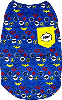 DC Comics Superhero T-Shirts for Dogs | Soft Tees for Dogs and Puppies in Batman, Superman, Wonder Woman Tees for Dogs