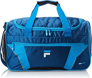 Fila Drone Small Gym Sport Duffel Bag, Navy/Blue