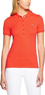 Lacoste Women's Basic Womens 5 Button Polo
