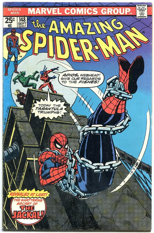 AMAZING SPIDER-MAN #148 1975 COMICS-TARANTULA book-MARVEL comic Ranking TOP15 OFFicial shop