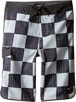 Mixed Scallop Boardshorts (Little Kids/Big Kids)