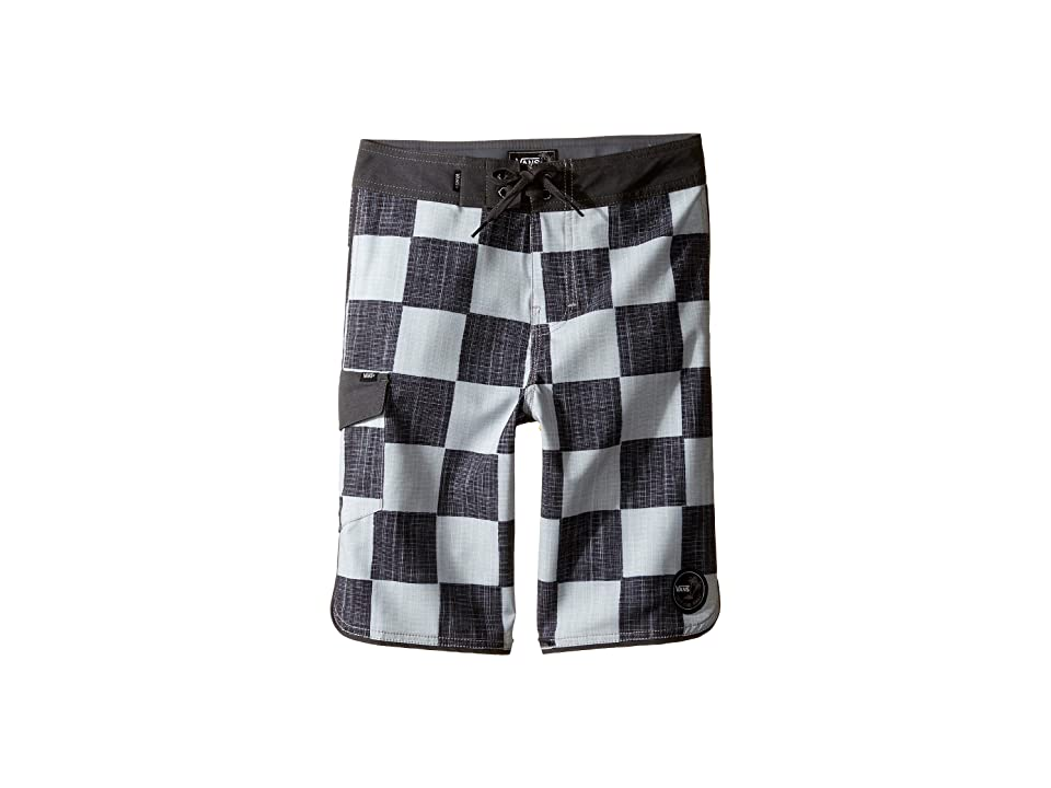 Vans Kids Mixed Scallop Boardshorts (Little Kids/Big Kids) (Checkerboard) Boy