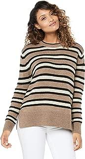 French Connection Women's Tonal Stripe Wool Blend Knit