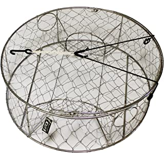 """KUFA Stainless steel wire crab trap (ø30""""x10"""") CT100"""