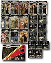 Star Wars 40th Anniversary Mega Collectors 23 Piece Set, Action Figures, Hot Wheels Carships and Starships, and Legacy Pack
