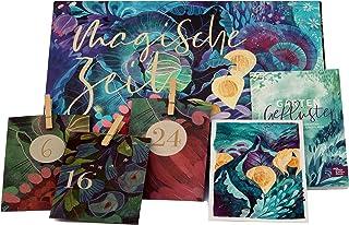 Bio-Saatgut-Adventskalender 2021 - Magische Zeit- Das Original von Magic Garden Seeds - Jubiläumsausgabe - befüllt mit 24 ...