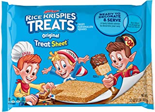 Kellogg's Rice Krispies Original Marshmallow Treats - Pre-Made Party-Size Treat Sheet, 12 IN x 15 IN Sheet