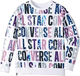 Converse Kids - All Over Printed Pullover (Big Kids)