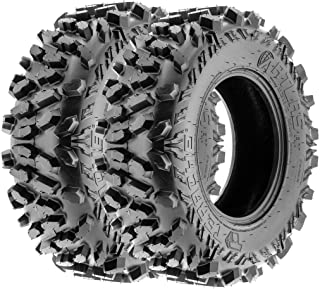 TERACHE Atlas ATV UTV A/T Tires 28x9-12 28x9x12 Tubeless Race Premium 8 Ply, [Set of 2]