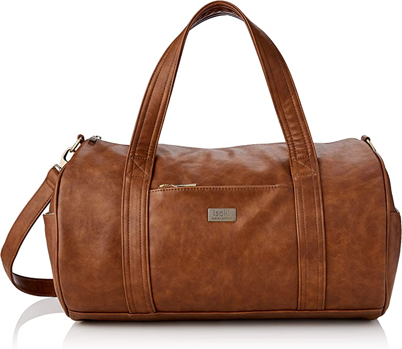 ISOKI Isoki Redwood Kingston Duffle Bag, Redwood, 1030 Grams