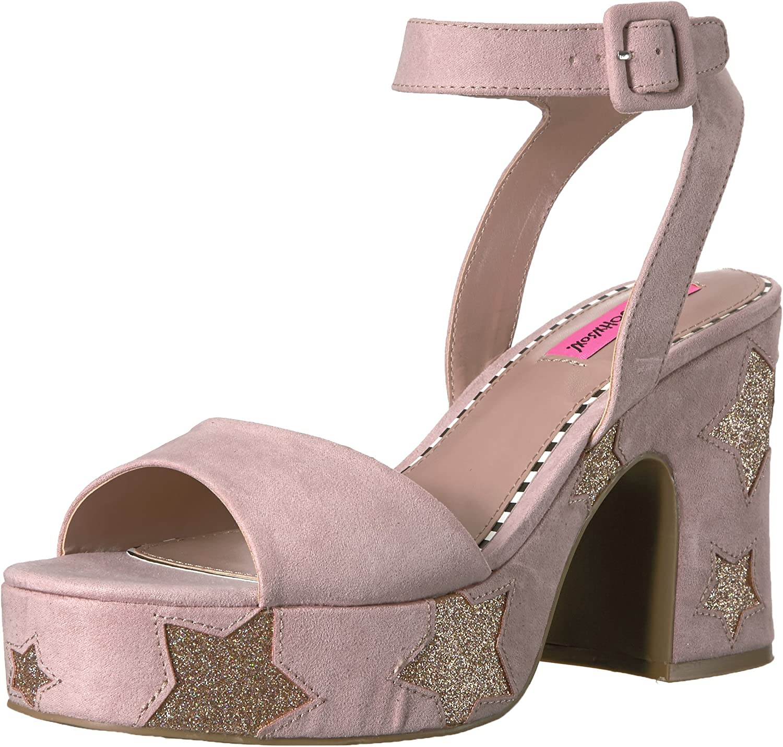 Betsey Johnson kvinnor Claude Claude Claude Platform Dress Sandal  snabb frakt och bästa service