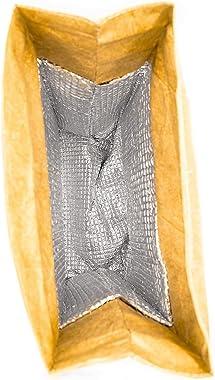 Freddie Crown - Reusable & Insulated Tyvek Art Lunch Bag