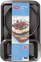 "Tala Everyday Baking Set, with 9"" Springform Cake Tins, 2lb Loaf Tin and Baking Tray"