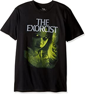Goodie Two Sleeves Men's The Exorcist Green Regan Adult T-Shirt
