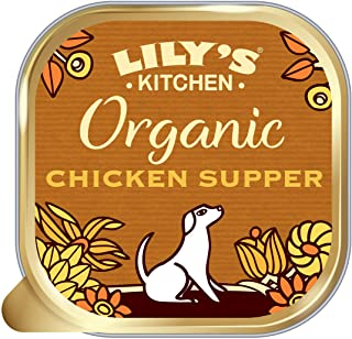 Lily's Kitchen Organic Chicken and Spelt Supper for Dogs 150 (Pack of 11)