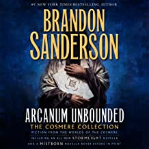 arcanum unbounded the cosmere collection audiobook
