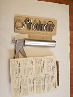 VINTAGE Wear Ever Cookie Gun [cookie press] and Pastry Decorator with Thickness Control -- Complete in Original Box with Instructions -- as shown