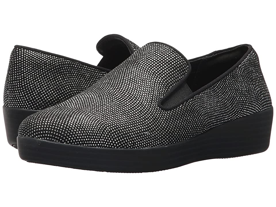 FitFlop Superskate (Black Glimmer) Women