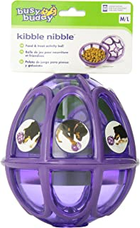 PetSafe Busy Buddy Kibble Nibble M/L, Interactive Meal Dispensing Dog Toy, Feeder Ball for Medium and Large Dogs