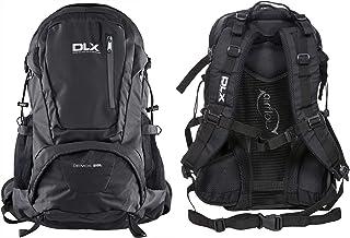 DLX Deimos, Black X, Rugzak 28L met ventilatiesysteem, Walking Pole Hoops & Hydration Pack Access, Zwart