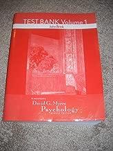 Testbank Volume 1 to Accompany Myers Psychology 8th Edition