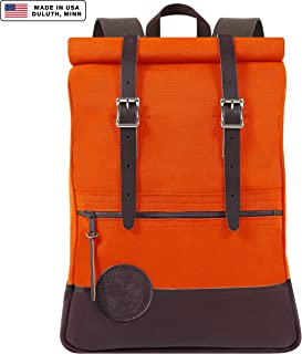 Duluth Pack Scout Rolltop Deluxe Pack (Orange)